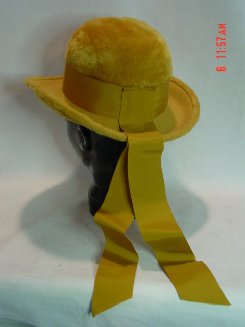 Gold Felt Betmar Ladies Hat