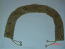 Vintage Faux Pearl Beaded Collar Made in Japan