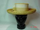 Vintage Ladies Panama Straw Betmar  Hat