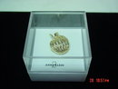 Anne Kleine Goldtone Apple Pin Brooch