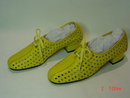 Vintage Yellow Leather Ladies Shoes by Hush Puppies