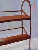 Antique Metal Store Shoe Display Rack