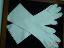 Vintage Long White Cotton Ladies Gloves
