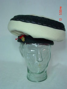 Vintage Shiaparelli Wool Felt Beret Hat