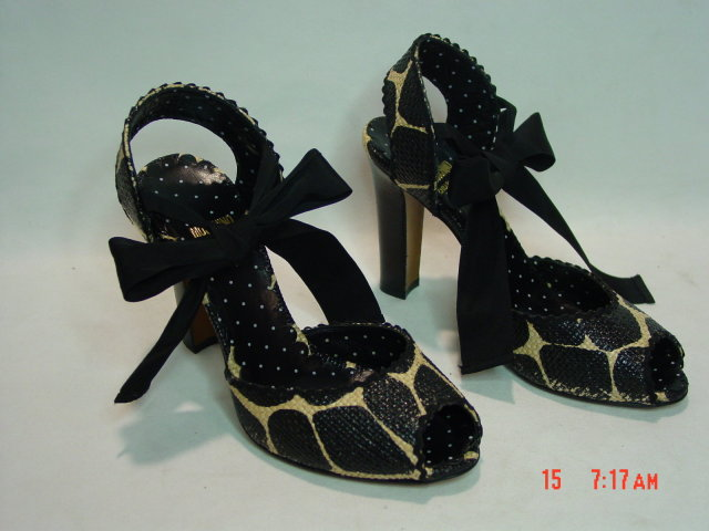 NEW Moschino Cheapandchic Animal Print Shoes Size 36