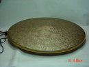 Vintage Oval Gold Vinyl A&T Engineering Electric Massager Cushion