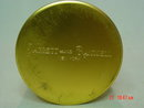 Vintage Brass Colored Daggett and Ramsdell Face Powder Tin Container