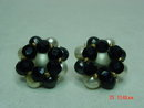 Richelieu Beaded Clip Earrings