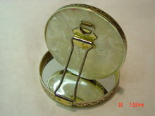 Vintage Folding Double Mirror Compact