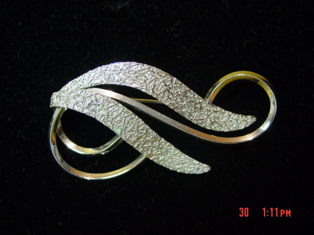 V.O. Sterling Silver Brooch