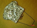 Antique Sequin Evening Bag Purse