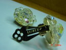 Lisner AB Crystal Clip Earrings