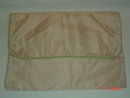 Pale Pink & Green Hosiery or Handkerchief Bag Holder