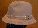 Vintage Tan Felt Trilby Tyrolean Fedora Men's Hat