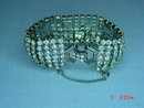 BRIGHT Weiss Clear Rhinestone Bracelet