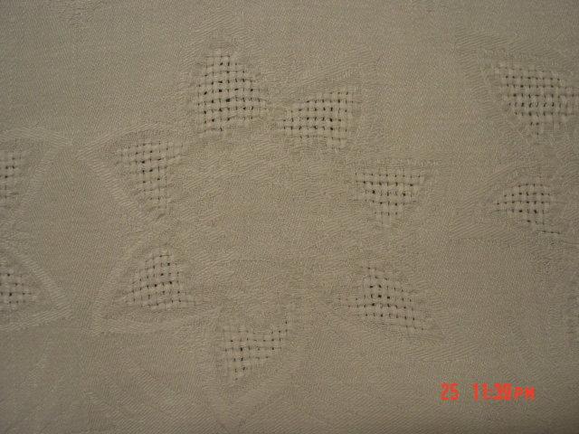 76x57 Damask Linen Tablecloth