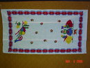 Vintage Pa. Dutch Design Linen Dish Hand Towel