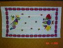 Vintage Pa. Dutch Design Linen Dish Hand Towel