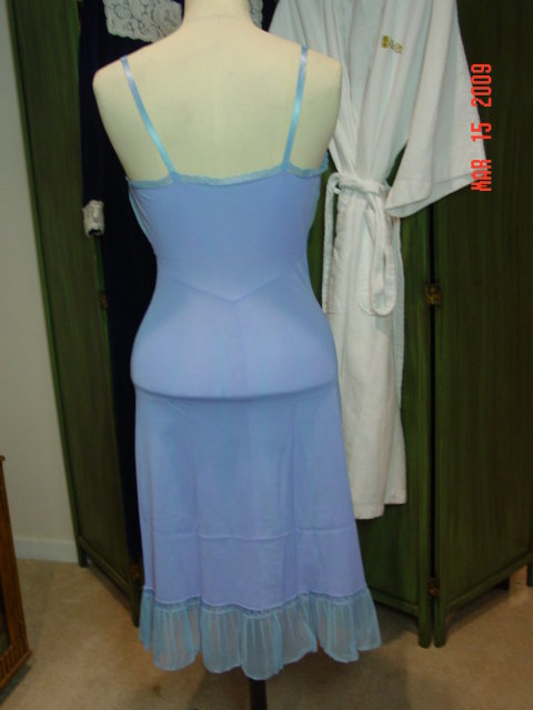 Pale Lavender Nylon Slip by Rogers Size 34 Average