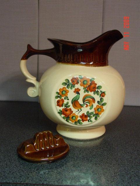 McCoy Yorkville Rooster Pitcher Cookie Jar
