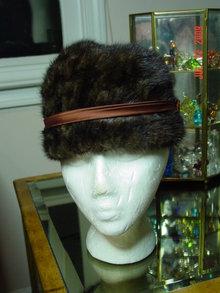 Vintage Quality House Chapeaux Mink Hat