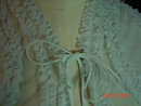 Vintage Light Blue  Shadowline Bed Jacket Size Small