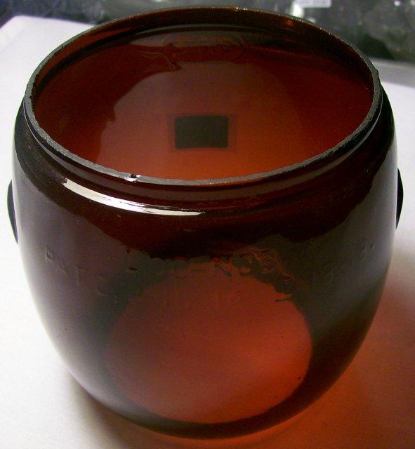 Dietz Lantern Globe:  Ruby Red