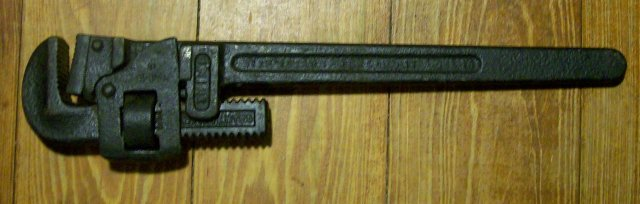 Trimont Trimo #18 Pipe Wrench 16.5