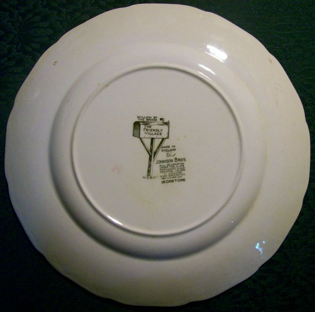 Johnson Brothers Friendly Village Plate