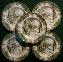Johnson Brothers Friendly Village Plate Set
