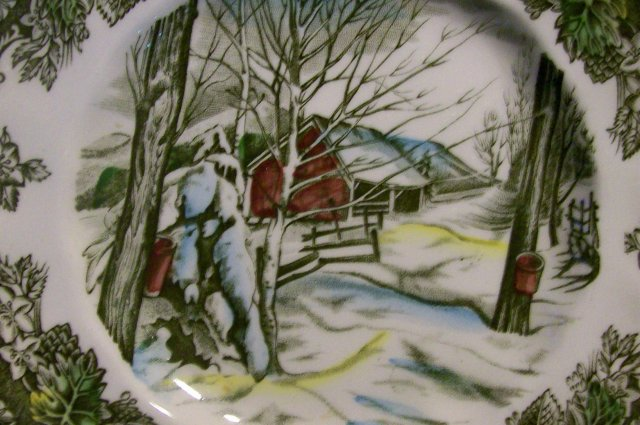 Johnson Brothers Friendly Village Plate Set/5