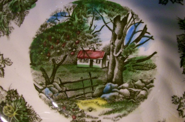 Johnson Brothers Friendly Village Ceramic Bowl Pair 5