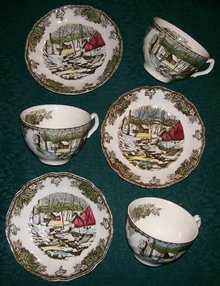 Johnson Brothers Friendly Village Cup & Saucer Set