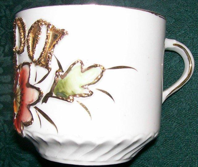 Victorian Porcelain Mustache Mug