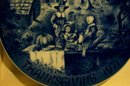 Limited First Edition Bareuther Plate: Thanksgiving 1971