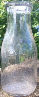 Scott-Powell Dairies Milk Bottle