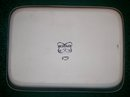 Shafford Ecstasy Ceramic Rectangular Baker 1980's Butterflies