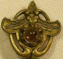 Art Nouveau Scarf/Stick Pin