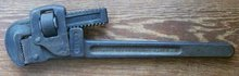 Trimo #14 Pipe Wrench: Ca. 1900
