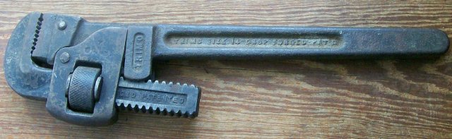 Trimont Trimo #14 Pipe Wrench 13