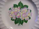 Cronin China Platter with Floral Center COI 1