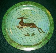 Waverly Products Tray: Mosaic Deer