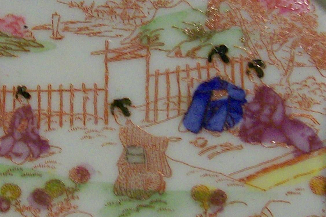 Geisha Girl Pin Tray: Picnic