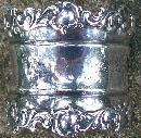 Sterling Inscribed  Napkin Ring: