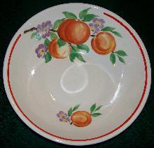 Pottery Guild/ Cronin China Salad Bowl:
