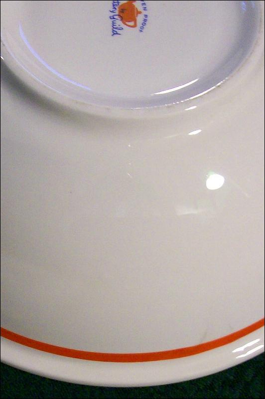 Pottery Guild/Cronin/Block China Salad Bowl