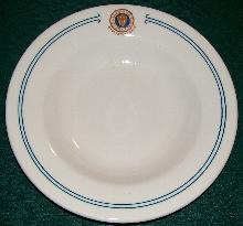 Union League of Philadelphia Restaurant Ware Bowl: Scammell Trenton