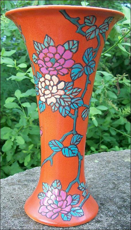 Royal Nishiki Nippon Vase