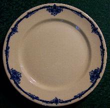 Scammell's Trenton Lenape Restaurant Ware Plate: #394
