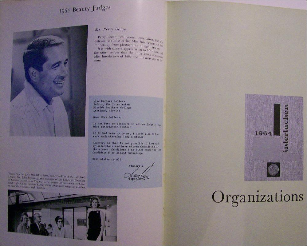 Yearbook: 1964 Florida Southern College, Lakeland